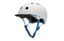 ProTec Classic Street Helm satin white